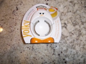 The Yolky egg separator by Joie.