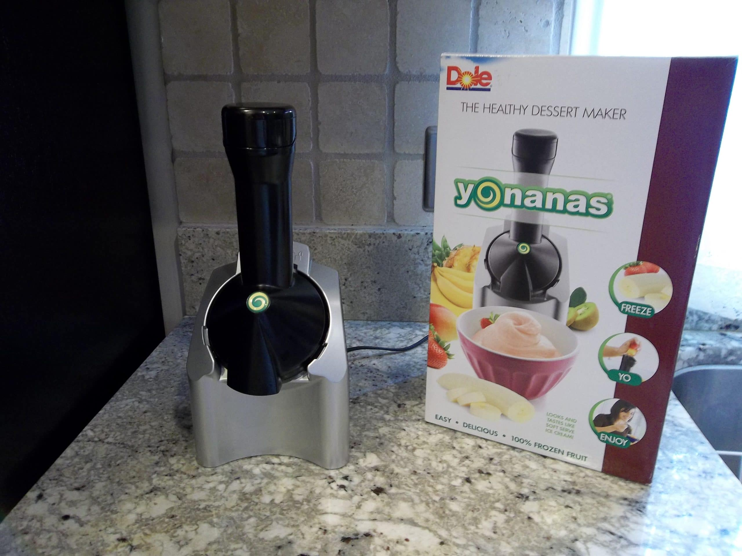 The yonanas fruit dessert maker.