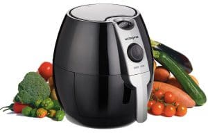 Cozyna air fryer use just one tablespoon of oil.