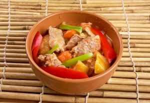 beef stew made in pressure cooker