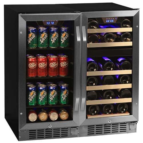 Edgestar Cwbv8026 26 Bottle 80 Can Side By Side 30 Wide