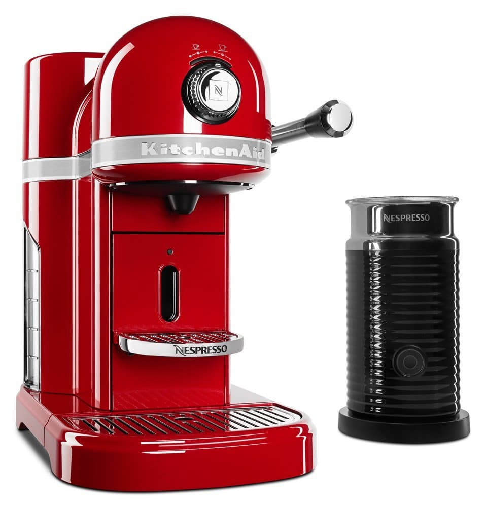 KitchenAid KES0504ER Nespresso Bundle Review ⋆ YBKitchen