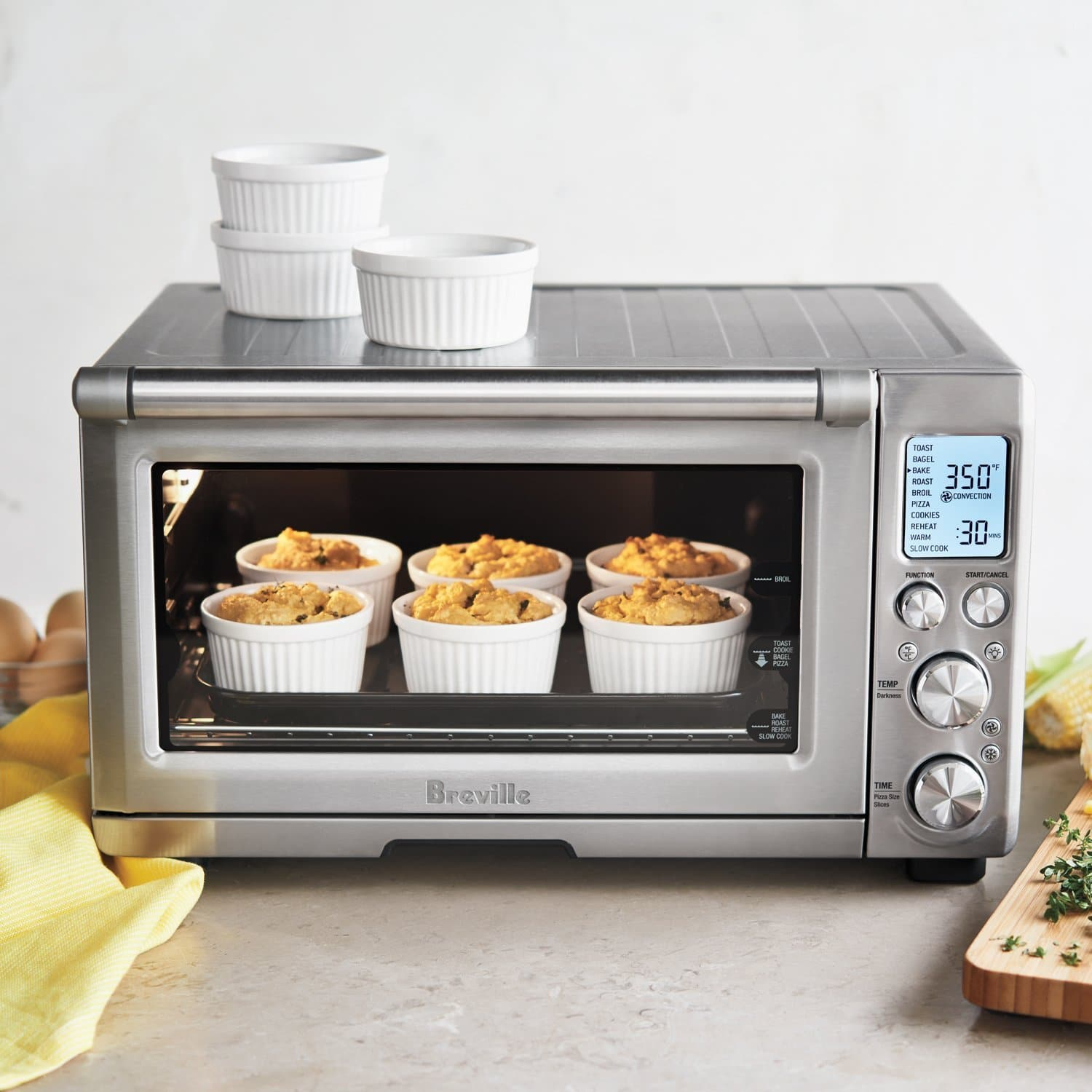 Professional Countertop Convection Oven Reviews : Breville BOV845BSS Smart Oven Pro Review ? Updated 2017 ...