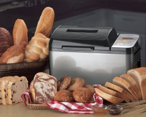 Zojirushi BB-PAC20 bread-maker.