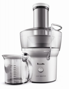 Breville BJE200XL Centrifugal Juicer.