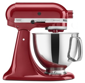 KitchenAid Artisan mixer.