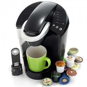 Keurig K45 single serve coffee maker.