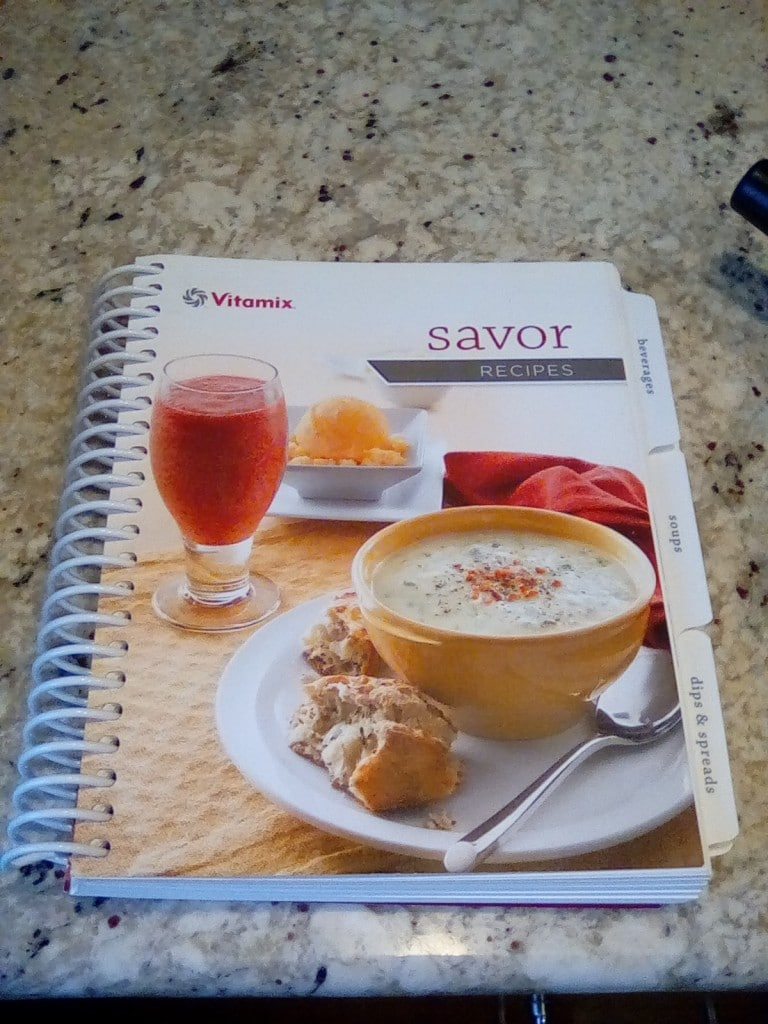 Vitamix 6300 Savor Cookbook