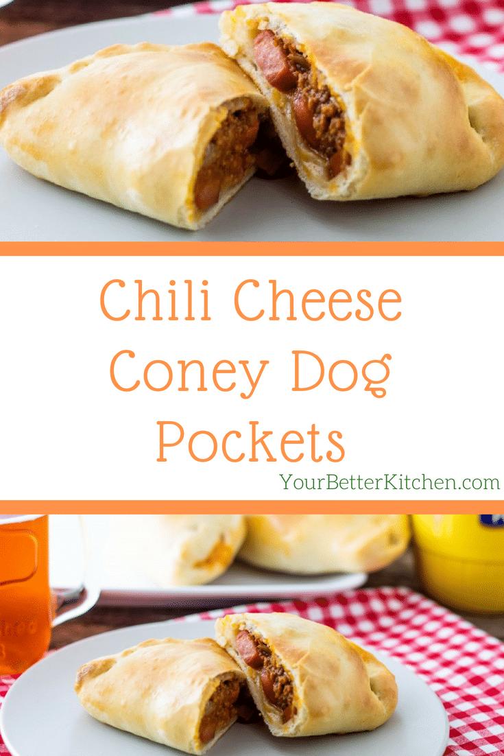 Chili Cheese Coney Dog Pockets