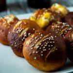 Jalapeno Popper Stuffed Pretzel Bites